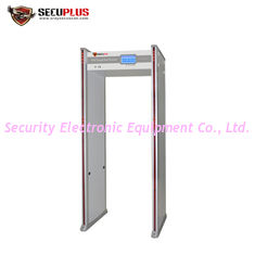 China Archway Walk Through Metal Detector Gate 24 Zones 15W With 4h Backup Battery supplier