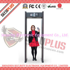 China 18 Zones Walk Through Security Metal Detectors SPW-IIIC 12 Months Warranty supplier