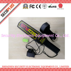 China 50mA Hand Held Security Metal Detectors , SPM-2008 Portable Body Scanner 7V-9V supplier