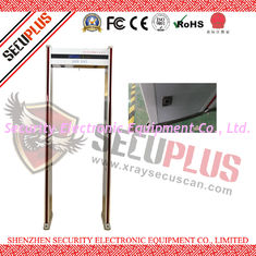China LCD Screen Walk Through Metal Detector DFMD SPW-IIID Adjustable Sensitivity supplier