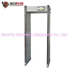 China 33 Zones Walk Through Metal Detector SPW-300S LCD display door frame gun detector supplier