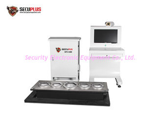 China Line Scanning CCD Under Vehicle Inspection System For Undercarriage Check supplier
