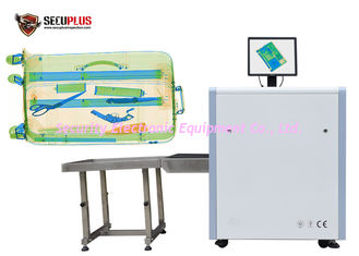 China Small size X ray Baggage and Parcel Inspection SPX5030C with dual energy supplier