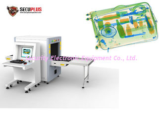 China Airport x ray security systems With high Steel penetration 34mm SPX-6550 Scanner supplier