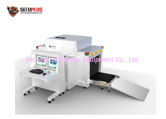 China Dual View X Ray Baggage Scanner Machine For Sports , Convention Security Check supplier