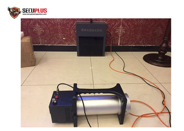 China Police Use Portable X Ray Baggage Scanner With Industrial Ccd Camera supplier