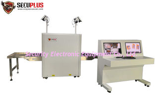 China 160kv dual energy generator 0.20m/s 38mm Steel X Ray Scanner with Camera Monitoring supplier