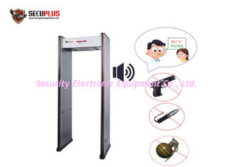 China 0.1-50cm Checking Distance Metal Detector Security Doors English Voice Broadcast supplier