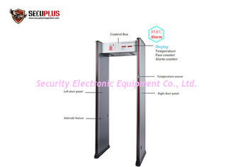 China 6/18 Zones Metal Detector Door Frame Infrared Ir Sensor Temperature Detection supplier