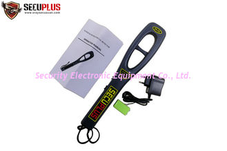 Airport security CE approval portable super scanner metal detector with charger and battery