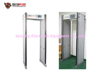 China 33 Zones MBSU Battery IP67 15w Door Frame Metal Detector supplier