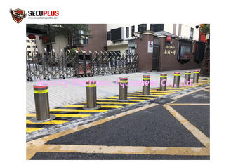 China Retractable 2.2KW Hydraulic Rising Bollard A3 Carbon Steel supplier