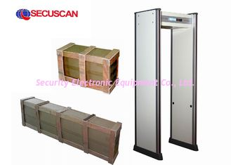 China High Sensitivity Walk Through Metal Detector Ip55 weather proof outdoor supplier