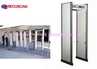 China Economical Metal Detector / Door Frame Metal Detector with 6-Zone supplier