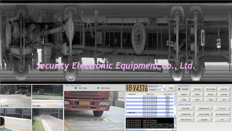 China Under Vehicle Inspection Systems For Cars security management in Government Buidling supplier