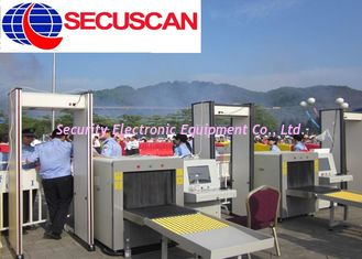 China Buildings Cargo X Ray Scanning Machine for Transport terminals supplier