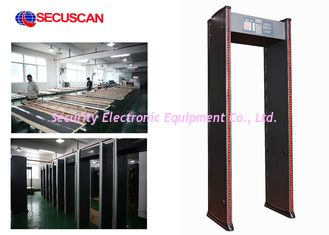 China Security Walk Through Scanner Sound and 2LED Alarm for Checkpoint supplier