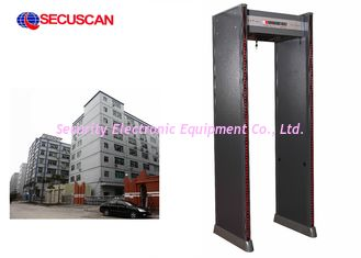 China Body Walk Through Scanner metal detectors high search sensitivity supplier