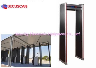 China Airport Metal Detector Gate with 100 level sensitivity adjustable supplier