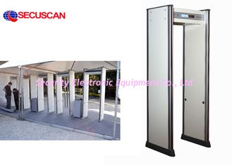 China SECUSCAN Walk Through Metal Detector With remote controller for detect gun weapons supplier