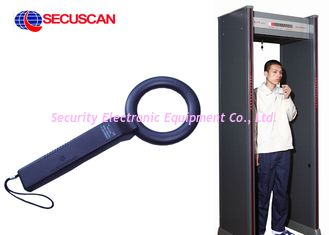 High Sensitivity  Checkpoint Handheld Metal Detector Body Scanner for Loss Prevention