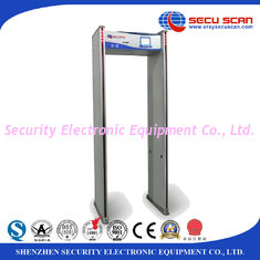 China White 8 16 24 Detecting Multi - Zone Walk Through Metal Detector Security Door supplier
