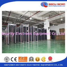 China Indoor Walk Through Metal Detector Door Frame For Airport Check supplier
