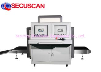 China Security X Ray Machines / Baggage Scanner 34mm Steel Penetration supplier
