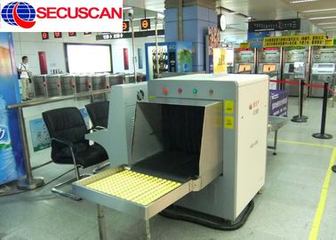 China Security X Ray Baggage Scanner / X-ray Screening System High Resolution supplier