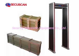 China Walk Through digital Metal Detector Machine for security check-in Area supplier