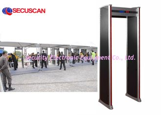 China High Sensitivity Walk Through Scanner / Security Body Scanner supplier