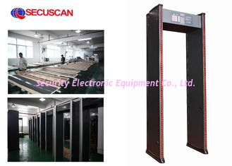 China Profesional Arched Walk Through Scanner For Security Checkpoint supplier