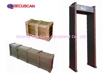 China High Sensitivity 78kg Walk Through Scanner with Alarm System For Prisons supplier