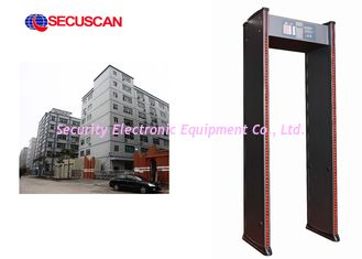 China High Sensitivity Electronic Security Gate Walk Through for Office supplier