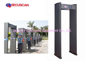 China Body Scanner Walk Through Metal Detector Machine Shock proof supplier