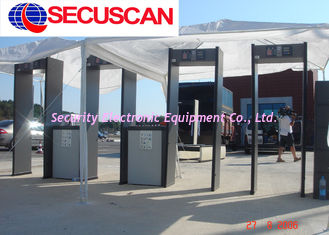 China Security Body Scanner Walkthrough Metal Detector Scanner For Schools supplier