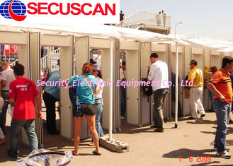 China Security Body Walk Through Scanner Detector For Commercial Buildings supplier
