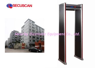 China Security Metal Detector Gate x ray body scanner With 50Hz / 60Hz supplier