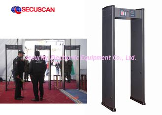 China Remote Control Walk Through Metal Detector supplier