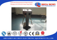 China Metal Office Security Tripod Turnstile Hospital Access Control Turnstile factory