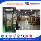 China Security Inspection Gate Walk Through Metal Detector For Office , Shops , Warehouse factory