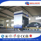 China Dual Energy Imaging Customs / Border X Ray Vehicle Scanner Security Scanning Machine factory