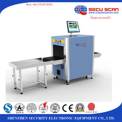 Secuscan x-ray baggage inspection system for train station