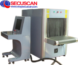 X ray Baggage Scanner AT6040 for government buildings Security