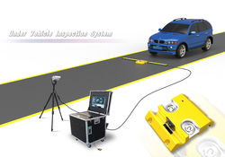 Uvis Under Vehicle Surveillance System High Resolution For Airport