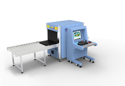 x ray baggage and parcel inspection systems with sound and light alarm