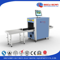 X Ray Baggage Scanner 5030 model with sound and light alarm function for security solution