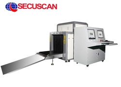 Airports Safe X Ray Baggage Scanner Machine 100kv - 150Kv with Steel