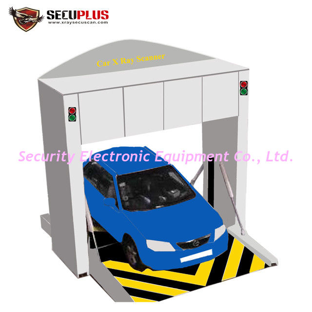 Folded Under Vehicle Surveillance System Occupied X Ray Truck Car