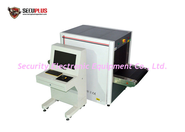 Windows 7 Dual Energy Baggage X Ray Machine 55db Noise Level SPX-6550 For Hotel